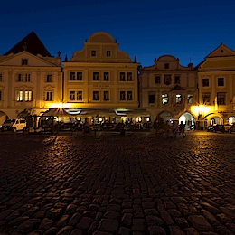 Náměstí - Český Krumlov