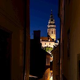 Věž - Státní hrad a zámek Český Krumlov