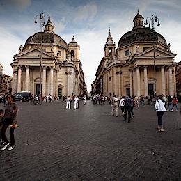 Basilica di Santa Maria in Montesanto a Chiesa di Santa Maria de