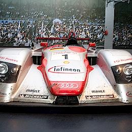 Audi R8, LMP900/LMP1, motor Audi 3.6L Turbo V8