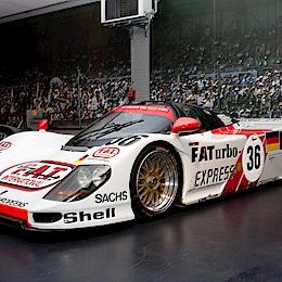 Dauer 962 Le Mans (Porsche 962), motor Porsche Type-935 3.0L Tur