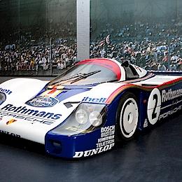 Porsche 956, motor Porsche Type-935 2.6L Turbo Flat-6Group C