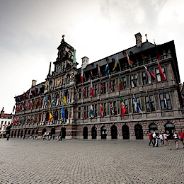 Radnice v Antverp