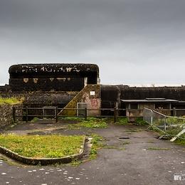 German bunker in Fort du Petit Minou