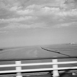 Ústí řeky Seiny u Le Havru