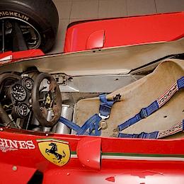 Kokpit Ferrari F1 126C