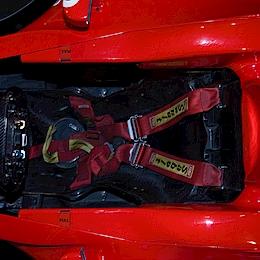 Kokpit Ferrari F2002
