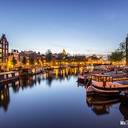 After The Sunset Somewhere In Amsterdam