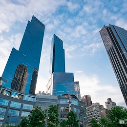 Skyscrapers on the Columbus Circle