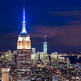 Empire State Building and 1WTC