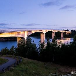 Most přes Hammarsundet