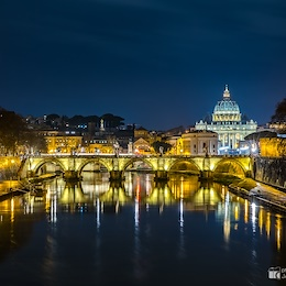 St. Peter's Basilica and Rome