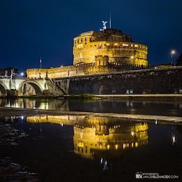 Castel Sant'Angelo Reflection