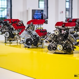 Ferrari Tipo F136 IH - F136 E - F131 B