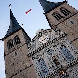 Kostel St. Leodegar, Luzern
